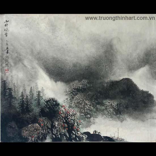 Tranh Sơn Thủy - Mã: TMTST042