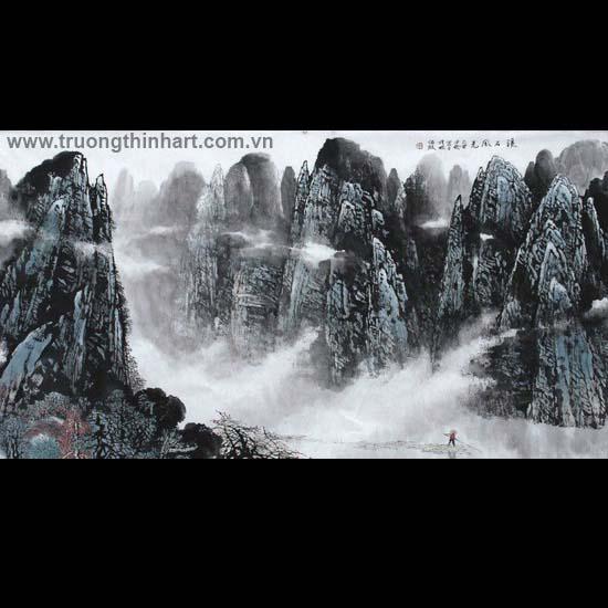 Tranh Sơn Thủy - Mã: TMTST044