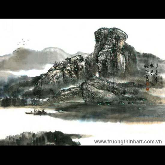 Tranh Sơn Thủy - Mã: TMTST045