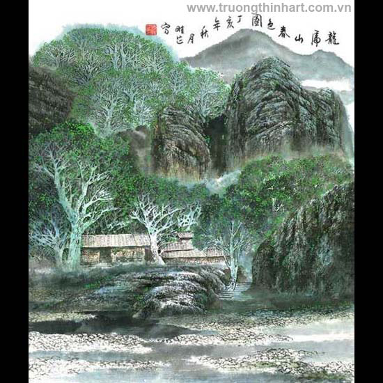 Tranh Sơn Thủy - Mã: TMTST046