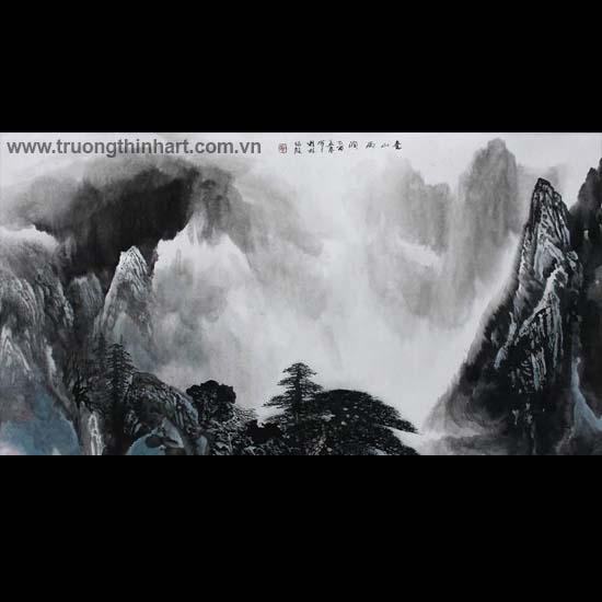 Tranh Sơn Thủy - Mã: TMTST047