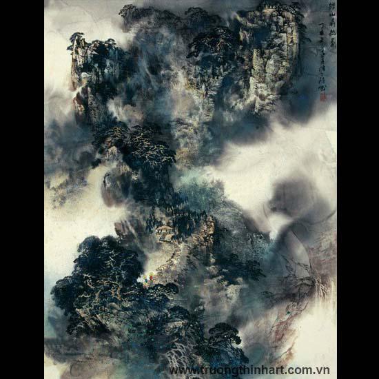 Tranh Sơn Thủy - Mã: TMTST048
