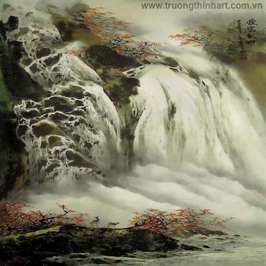 Tranh Sơn Thủy - Mã: TMTST050
