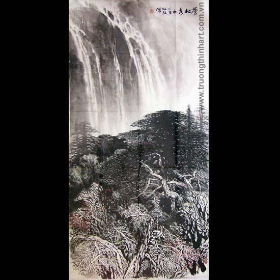 Tranh Sơn Thủy - Mã: TMTST051