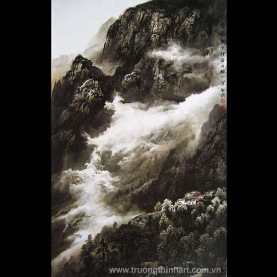 Tranh Sơn Thủy - Mã: TMTST054