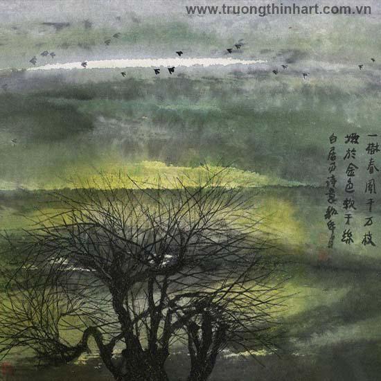 Tranh Sơn Thủy - Mã: TMTST056