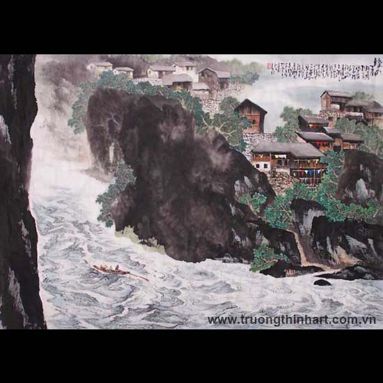 Tranh Sơn Thủy - Mã: TMTST058