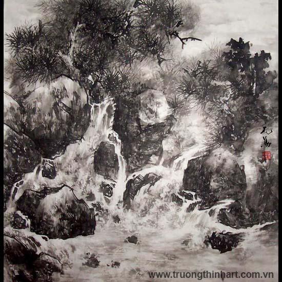 Tranh Sơn Thủy - Mã: TMTST062