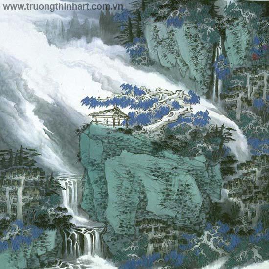 Tranh Sơn Thủy - Mã: TMTST063
