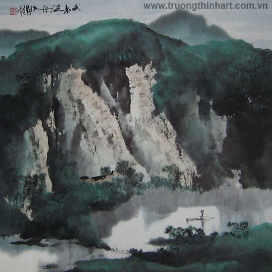 Tranh Sơn Thủy - Mã: TMTST064