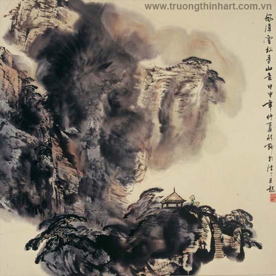Tranh Sơn Thủy - Mã: TMTST066
