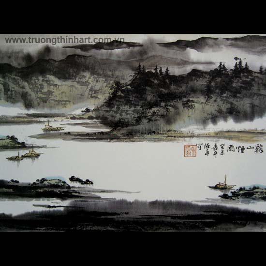 Tranh Sơn Thủy - Mã: TMTST067