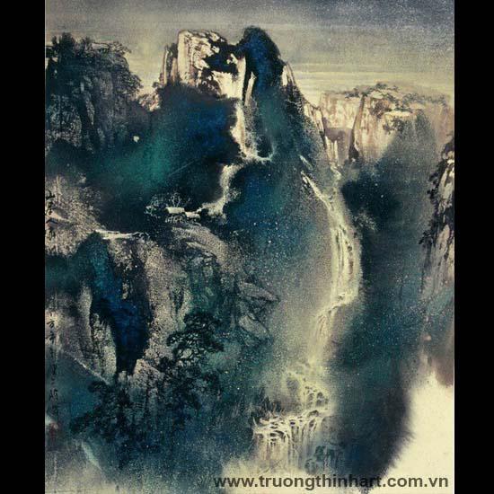 Tranh Sơn Thủy - Mã: TMTST068