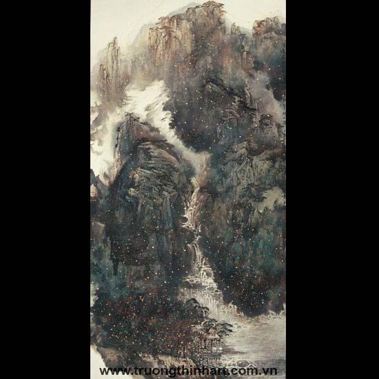 Tranh Sơn Thủy - Mã: TMTST069