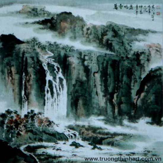 Tranh Sơn Thủy - Mã: TMTST071