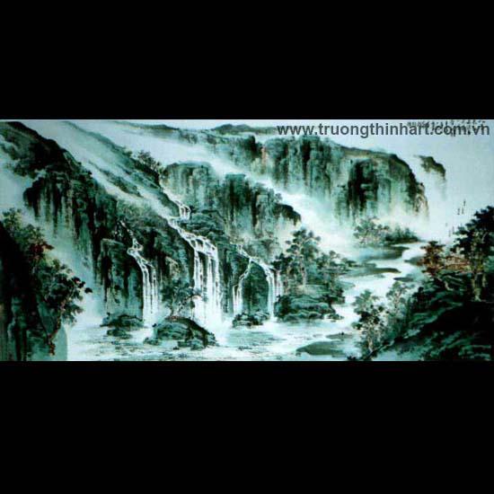 Tranh Sơn Thủy - Mã: TMTST075