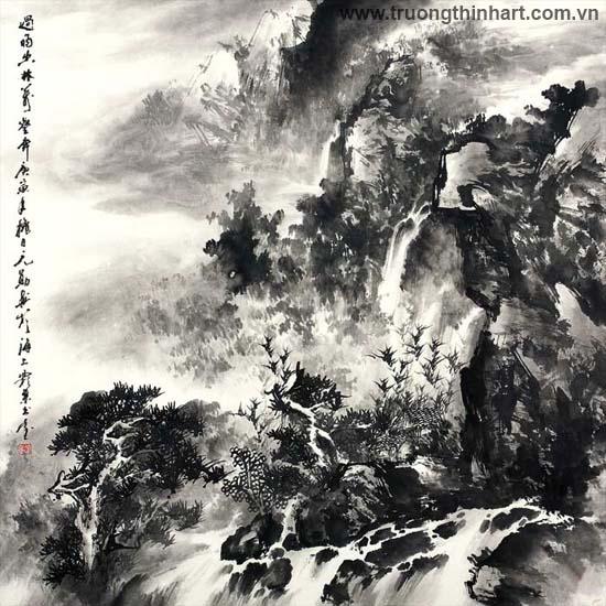 Tranh Sơn Thủy - Mã: TMTST076