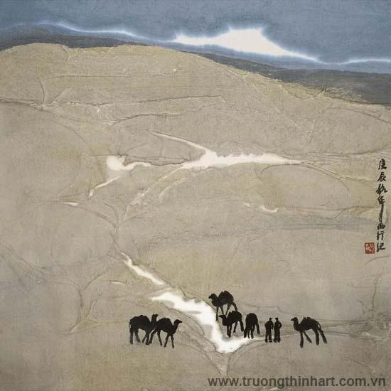 Tranh Sơn Thủy - Mã: TMTST077