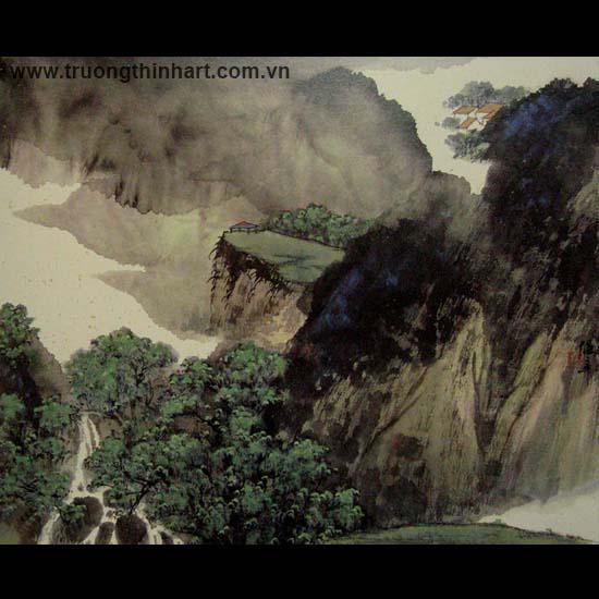 Tranh Sơn Thủy - Mã: TMTST078