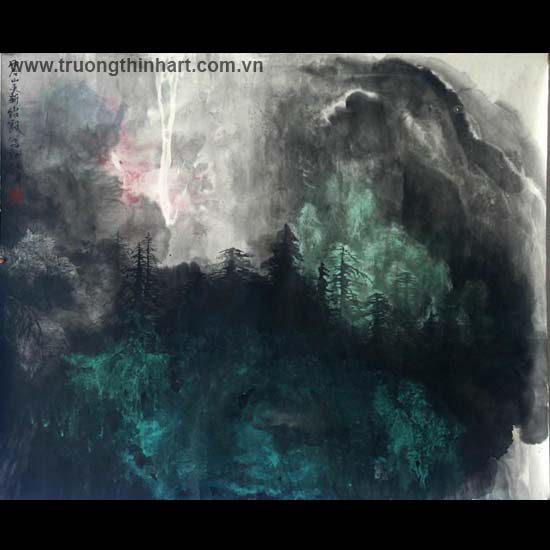Tranh Sơn Thủy - Mã: TMTST082