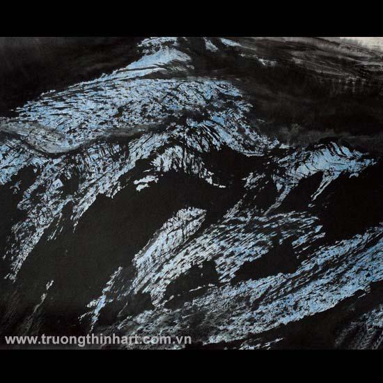 Tranh Sơn Thủy - Mã: TMTST085
