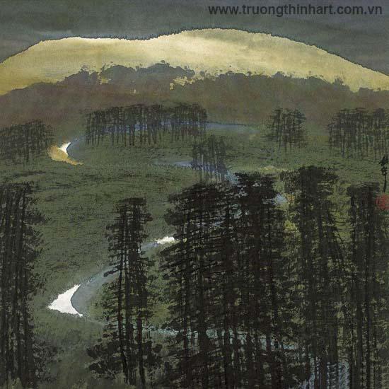 Tranh Sơn Thủy - Mã: TMTST086
