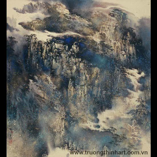 Tranh Sơn Thủy - Mã: TMTST088