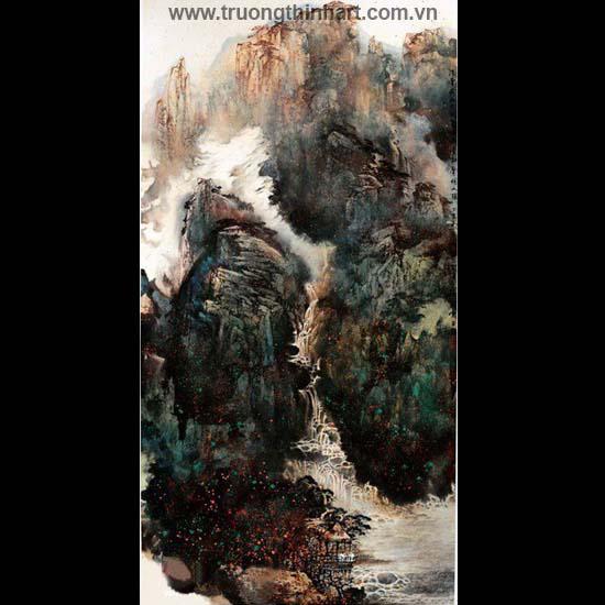 Tranh Sơn Thủy - Mã: TMTST089
