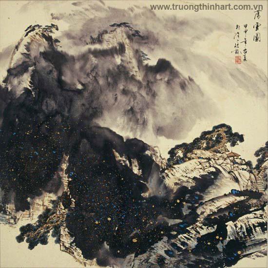 Tranh Sơn Thủy - Mã: TMTST092