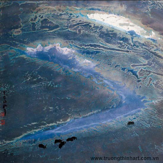 Tranh Sơn Thủy - Mã: TMTST100