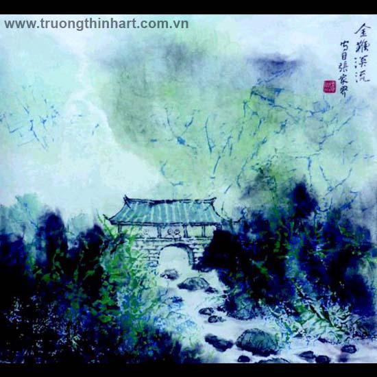 Tranh Sơn Thủy - Mã: TMTST102