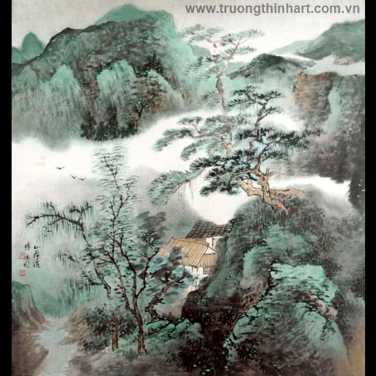 Tranh Sơn Thủy - Mã: TMTST108