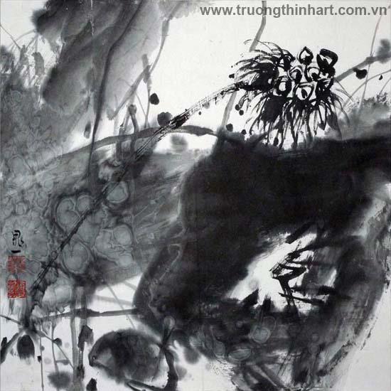 Tranh Sơn Thủy - Mã: TMTST111