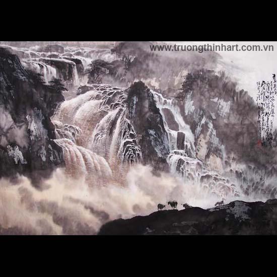 Tranh Sơn Thủy - Mã: TMTST113