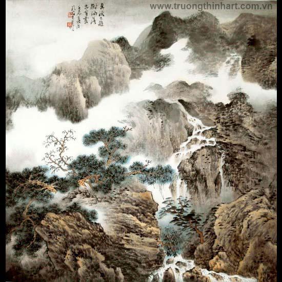 Tranh Sơn Thủy - Mã: TMTST115