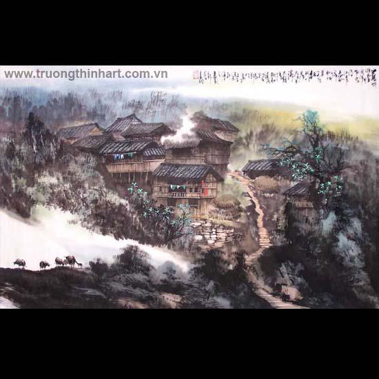 Tranh Sơn Thủy - Mã: TMTST116