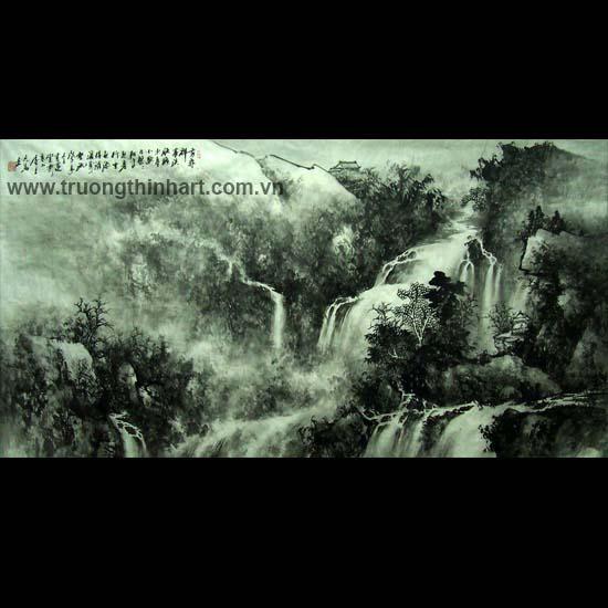Tranh Sơn Thủy - Mã: TMTST118