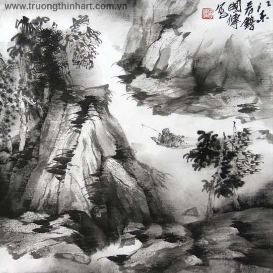 Tranh Sơn Thủy - Mã: TMTST119