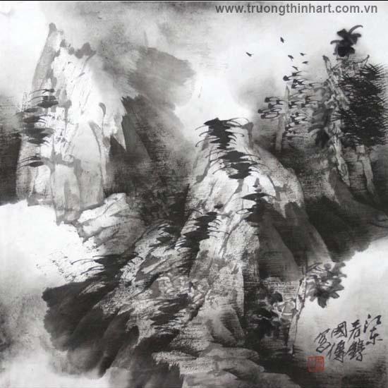 Tranh Sơn Thủy - Mã: TMTST120