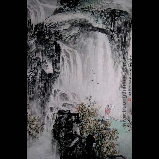 Tranh Sơn Thủy - Mã: TMTST121