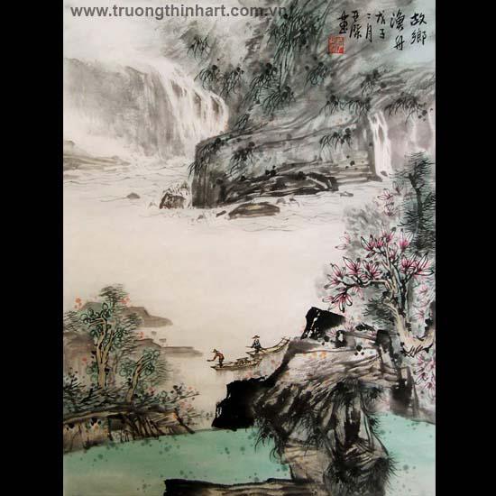 Tranh Sơn Thủy - Mã: TMTST123