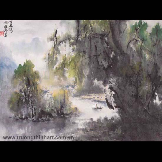 Tranh Sơn Thủy - Mã: TMTST124