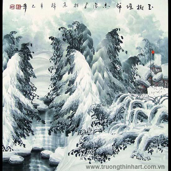 Tranh Sơn Thủy - Mã: TMTST125