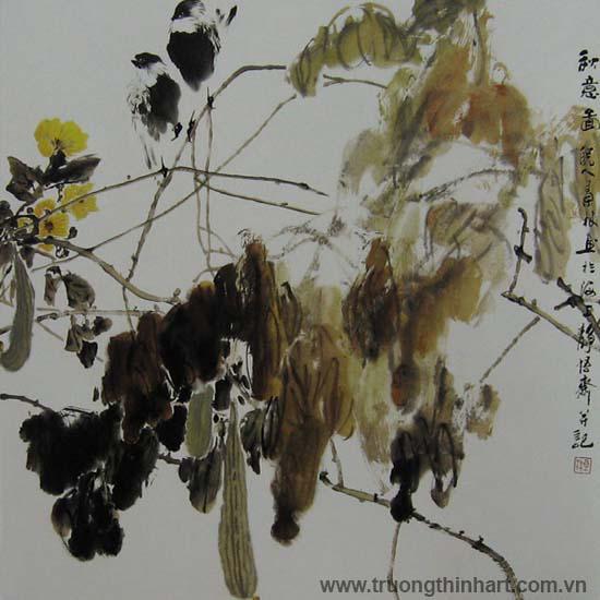 Tranh Sơn Thủy - Mã: TMTST126