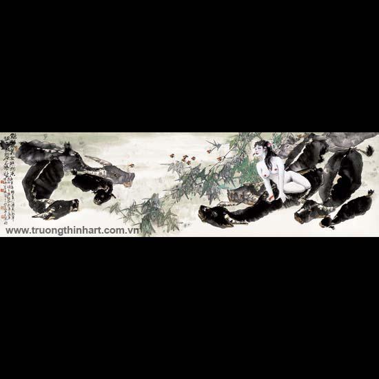 Tranh Sơn Thủy - Mã: TMTST127