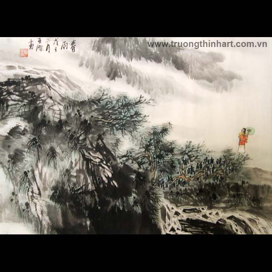 Tranh Sơn Thủy - Mã: TMTST128