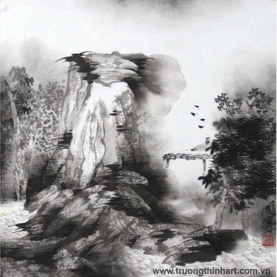 Tranh Sơn Thủy - Mã: TMTST131