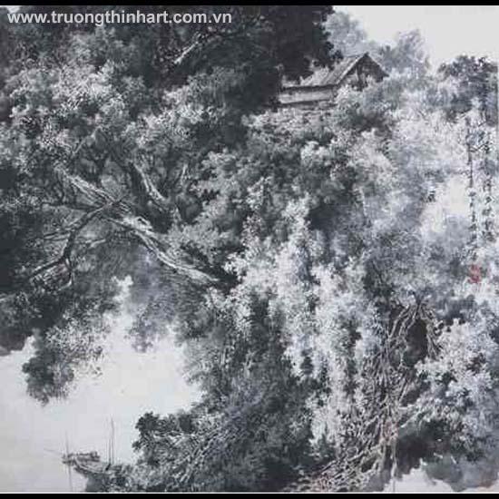 Tranh Sơn Thủy - Mã: TMTST132