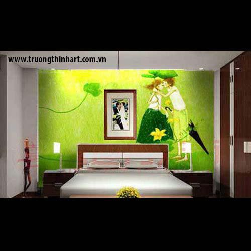 Tranh phòng ngủ - Mã: TTPN002