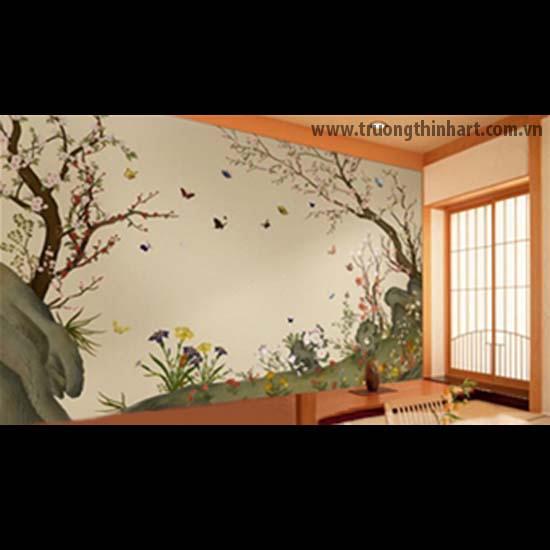 Tranh tường phòng trà - Mã: TTPT004